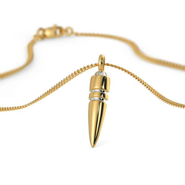 The Soldier's Bullet Pendant